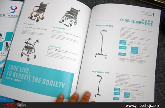 郑州医疗器械画册设计印刷-郑州一诺广告设计公司